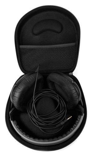 Housse de transport noire pour casque audio Bluedio H+ (Turbine), T3 Plus (Turbine 3ème), V (Victoire) Pro PPS12 et Sony MDR-ZX300, 570LP, ZX110NA, 10RBT Bluetooth - DURAGADGET