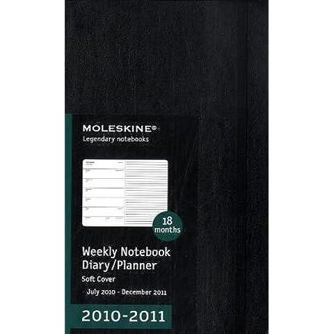 Moleskine 18 Month Weekly Notebook Diary/ Planner 2010-2011 - 2010 Planner