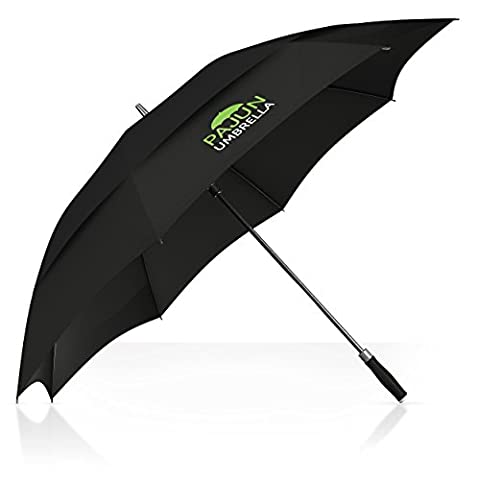 PAJUN Top Quality Golf Umbrella Best Windproof Golf Umbrella For Men Weighs Only .65 Kilograms With Large 130 Centimeter Canopy