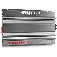 Auna W1-Ab-650 6-Canal Amplificador De Coche Puenteable 4800