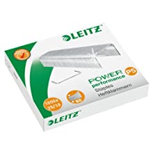 Leitz 55740000 P5 Power Performance 25/10 Staples, Power Performance, Resistant Metal Wire, Length 10 mm, 1000 Staples, Staples Up to 60 Sheet Capacity