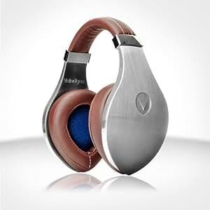Velodyne vTrue Over Ear Reference Headphones- Brushed Aluminum