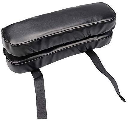 Unityoung Rollstuhl Armstütze Pad Abdeckung Ellenbogen Schmerzlinderung Kissen Memory-Schaum PU Leder Büro -