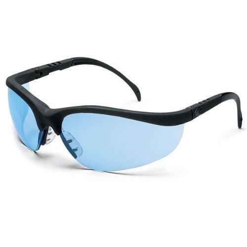mcr-kd113-crews-klondike-occhiali-di-sicurezza-lenti-blu-montatura-nera-1-paio-by-mcr-safety