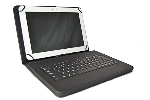 Funda Teclado QWERTY español Incluye Letra Ñ Tablet