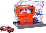 Mattel Hot Wheels-Carreras en la gasolinera
