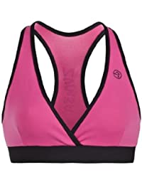 Zumba Fitness Damen WT Bra Flash V-Top