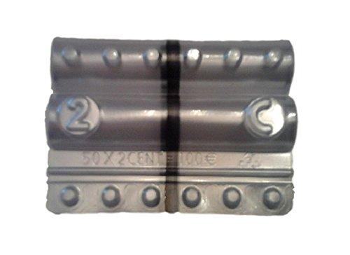 5d0643e103 Blister per monete euro - Kit 100 blister portamonete da 2 centesimi