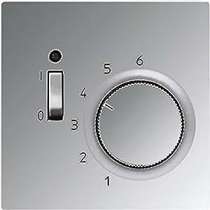 Jung TRGCR241 Raumtemperaturregler Öffner 1p.AC 24V glanzchrom