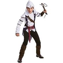 Karneval Klamotten Assassins Creed Kostüm Connor Kinder-Kostüm Jungen Größe 152/164