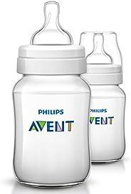 Philips Avent 260ml Classic Plus Feeding Bottle (Pack of 2)