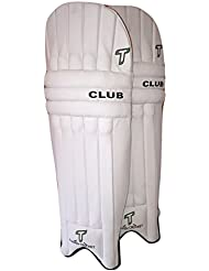 Totalmente Club de críquet bateador de críquet almohadillas/protectores de pierna, para diestros