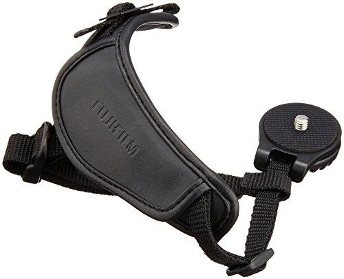Fujifilm serie X - Correa de muñeca para cámaras X-T1/X-Pro1/X-E1/E2/X-M1/X-A1/X-S1/H-S50/X100, negro