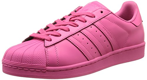 adidas Superstar Foundation Herren Sneakers Pink (Semi Solar Pink)