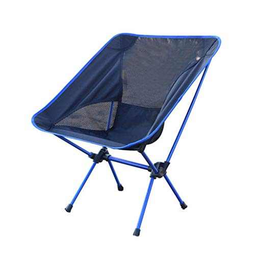 BYZDD Chaise Pliante Portative en Plein Air, Chaise Longue De Pêche Chaise De Plage Chaise en Aluminium Pliant Tabouret Camping Chaise De Lune Respirante