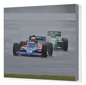 Toile de CM9 5853 Loic Deman, 010, Andy Tyrrell Tyrrell 011 Wolfe