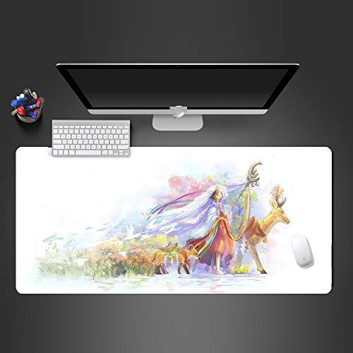 Mauspad hochwertige Gummi Computer Tastatur Mauspad professionelle schnelle Spiel Mauspad Spieler 900x400x2 -