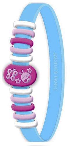 Jacques farel silicone nana-pop bracelet papillons bleu 4086eb394b3