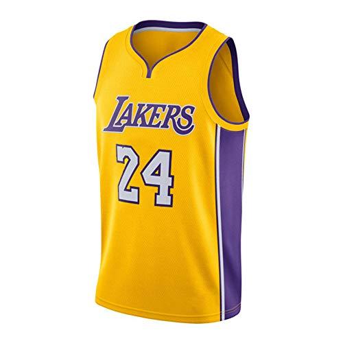 10b84503cd1ba Kobe Bean Bryant #24 Camiseta De Baloncesto para Hombre - NBA Los Angeles  Lakers Camiseta De Baloncesto Swingman Sin Mangas De Deporte para ...