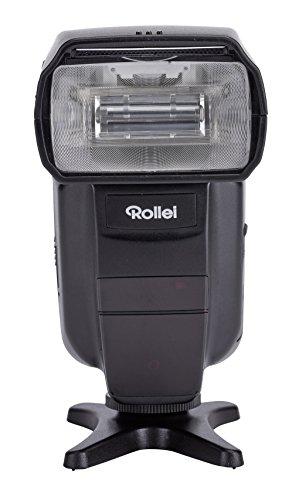 Rollei Blitzgerät 56 - für Canon und Nikon (Leitzahl 56, TTL-Blitzbetrieb, Master/Slave/Manueller Betrieb) schwarz