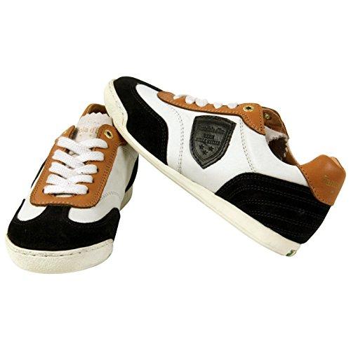 Produktbild PANTOFOLA D ORO Kinder Jungen Leder Sneaker Navy White 79 Größe 31