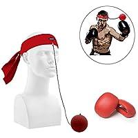 db Fight Ball Reflex, Bola de Entrenamiento de Boxeo, para Mejorar la Velocidad de perforación y la reacción, Entrenamiento portátil y Entrenamiento de equitación de Fitness