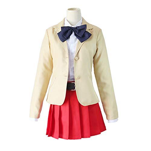 DXYQT Anime Cosplay Kostüm High School Uniform Leistung Kostüm Thema Party World Book Day Kostüme für Mädchen Full - Einfach Disney Themen Kostüm