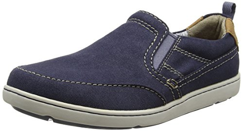 Rockport Herren Gryffen Mudguard Slip On Slipper Blue (navy Canvas)