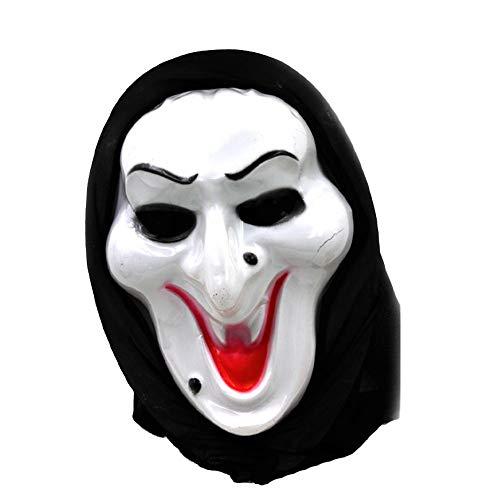 Ghost Themen Kostüm - Halloween Zombie Schädel Maske Unisex Latex Scary Zombie Maske Cosplay Kostüm Für Bar, Ghost Festival, Nachtshow Thema Party Requisiten