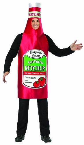 Rasta Imposta 338 Zestyville Ketchup-Flasche - One Size Fits (Ketchup Flasche Kostüm)