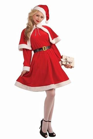 Miss Santa Suit Costume Dress Adult One Size Fits Most