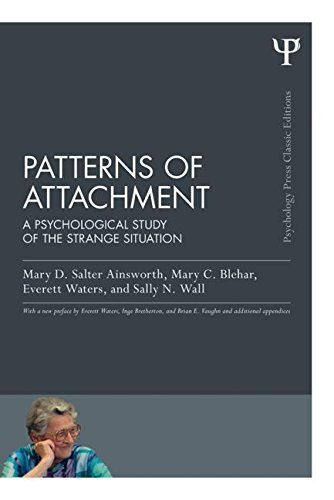 Patterns of Attachment: A Psychological Study of the Strange Situation (Psychology Press & Routledge Classic Editions) by Ainsworth, Mary D. Salter, Blehar, Mary C., Waters, Everett, Wall, Sally N. (July 2, 2015) Paperback
