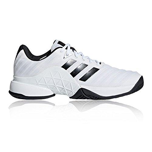 adidas Herren Barricade 2018 Tennisschuhe, Weiß (Ftwbla/Negbás / Plamat 000), 46 EU