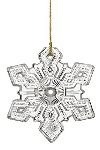 Marquis by Waterford ? Annual Snowflake, Limited Editions, Christmas Ornament 2010 by Marquis By Waterford