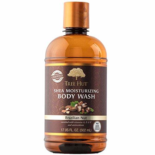 Tree Hut Shea Moisturizing Body Wash, Brazilian Nut, 17 Fluid Ounce by Tree Hut