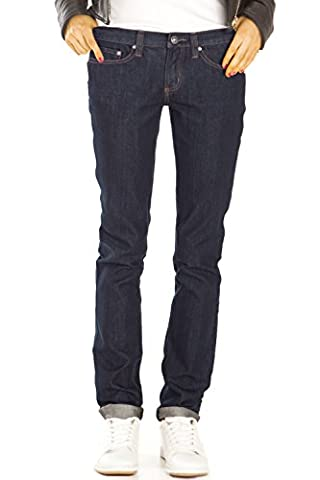 Bestyledberlin Damen Jeans, Straight Leg Hosen, Regular Fit Jeanshosen locker j29i 44/XXL