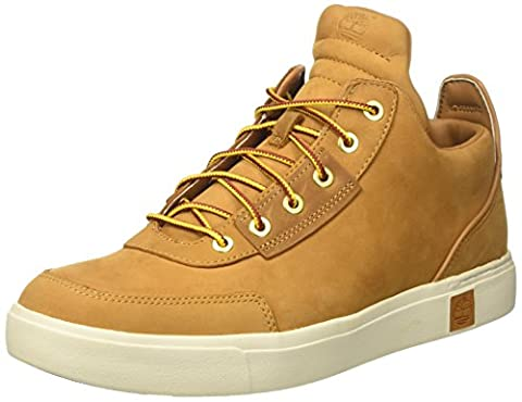 Timberland Men's Amherst High Top Chukkawheat Nubuck Chukka Boots, Wheat Nubuck, 10 UK (44.5 EU)