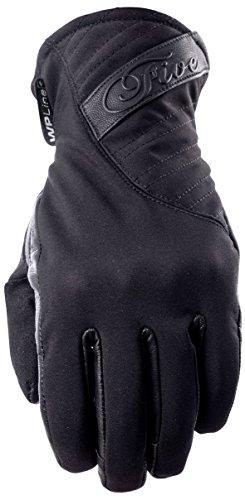 Cinque Advanced Milano guanto impermeabile da donna adulto guanti, nero, taglia 09