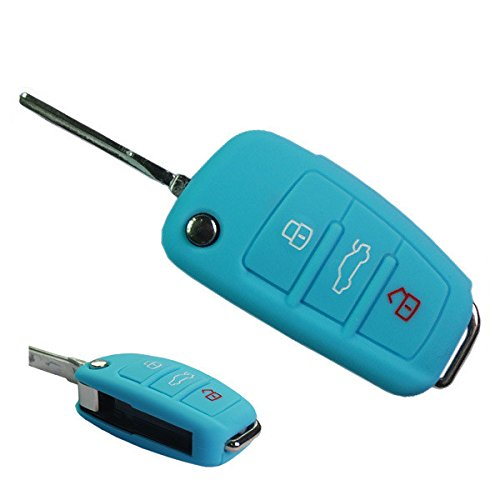 muchkey-silicone-car-key-cover-case-skin-jacket-fit-for-audi-a3-a4-cabriolet-a6-allroad-q7-r8-rs4-s6