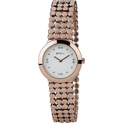 BREIL Reloj Silk Mujer Sólo el Tiempo IP Rosa - TW1767