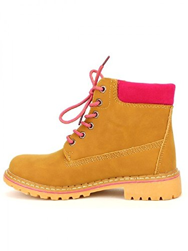 Cendriyon, Bottine CAMPERS Fushia Mode Chaussures Femme Fuschia