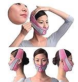 WGE Anti Falten Face Lift V Form Linie Schlank up Gürtel Gesichts Abnehmen Bandage Reduzieren Doppelkinn Face Lifting Massager Gesicht Abnehmen,B