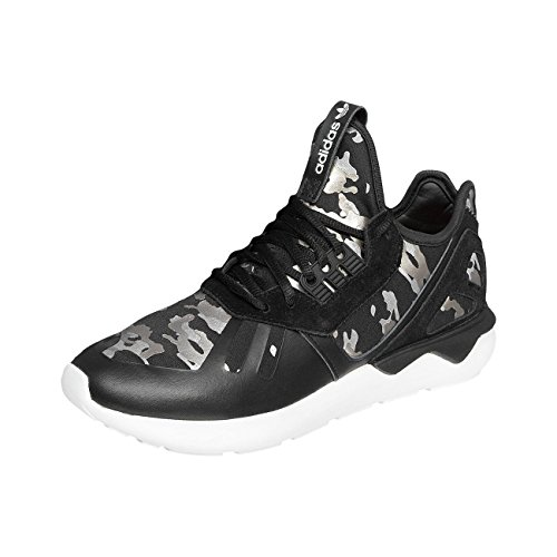 Adidas Originals Tubular Runner Womens Running Trainers Sneakers (uk 4.5 us 6 eu 37 1/3, black black white AF6276)