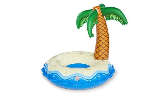 Bigmouth inc. galleggiante per piscina oasis palm tree island