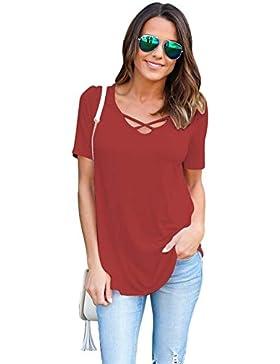 Camisetas Anchas Mujer Camiseta Camisas Para Damas Camisa Manga Corta Carta Estampadas Señora Verano Remeras Poleras...