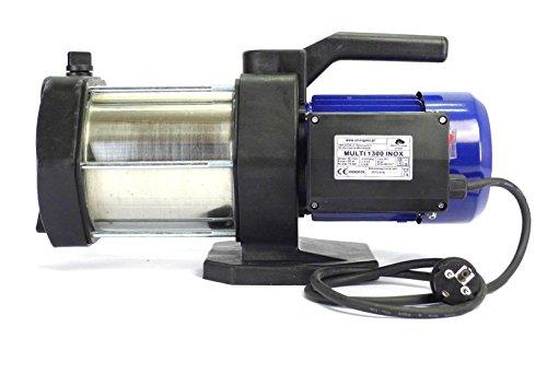 Wasserpumpe Kreiselpumpe Gartenpumpe Multi 1300 INOX 5400 L/h 6 bar H=60m