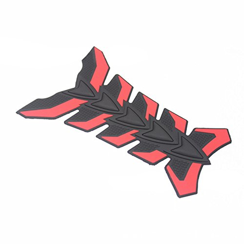 Kampre Motorrad Tankschutzhaube Pad 3D Fishbone Rubber Body Decals
