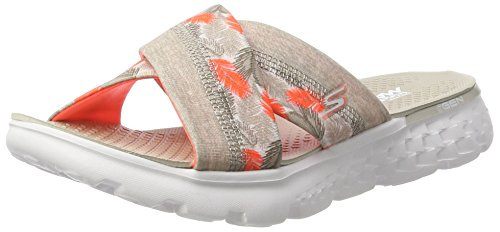 7c04ef64b5ee Skechers Women s on-The-Go 400-Tropical Flip Flops