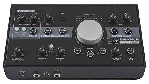 Mackie Big Knob Studio - Monitor Controller & Interface (Studio-monitore Mackie)