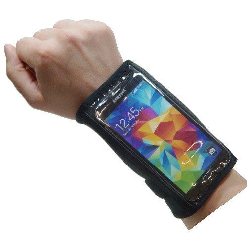 Handgelenk Tasche für Smartphone Allview P5 eMagic Etui Hülle Laufen Joggen 4,7-5,1 Zoll